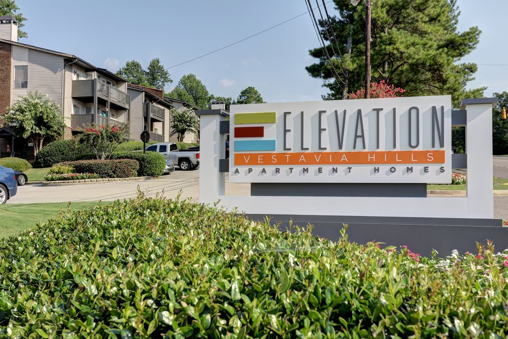 Elevation Vestavia Sign