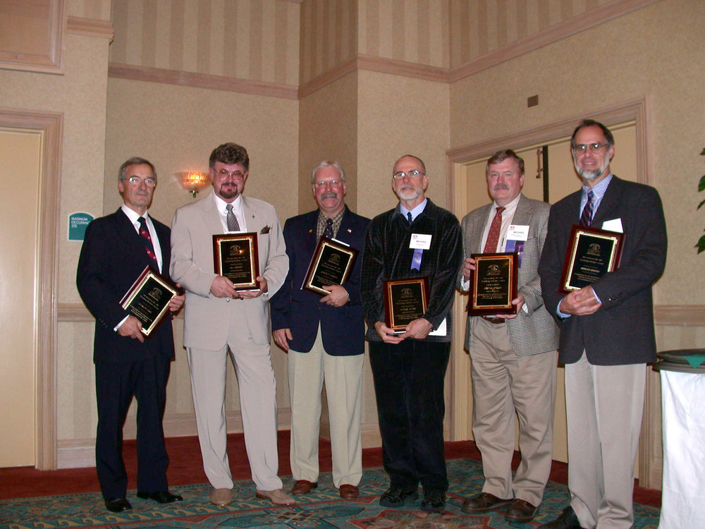 Left to right: Stanley Paris, Ola grimsby, Joe FarRell, Michael Moore, Mike rogers and richard erhard .
