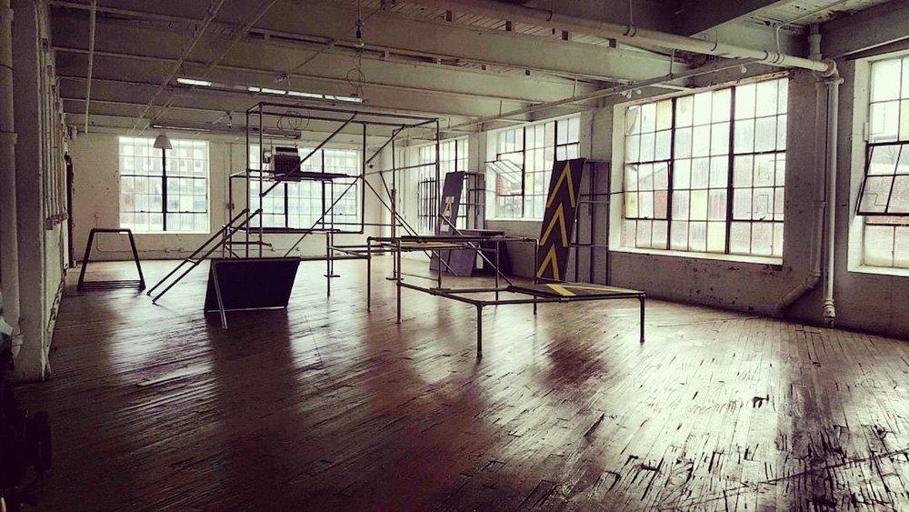 Commercial Set Design  Client:  Know Obstacles  Paterson, NJ   2016