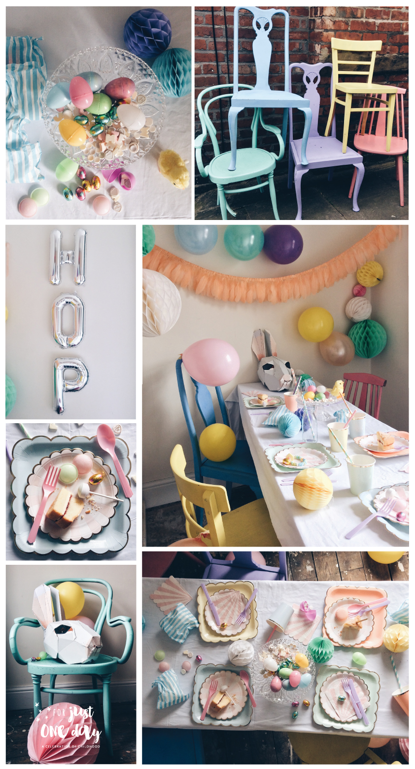 Easter Pastels Party