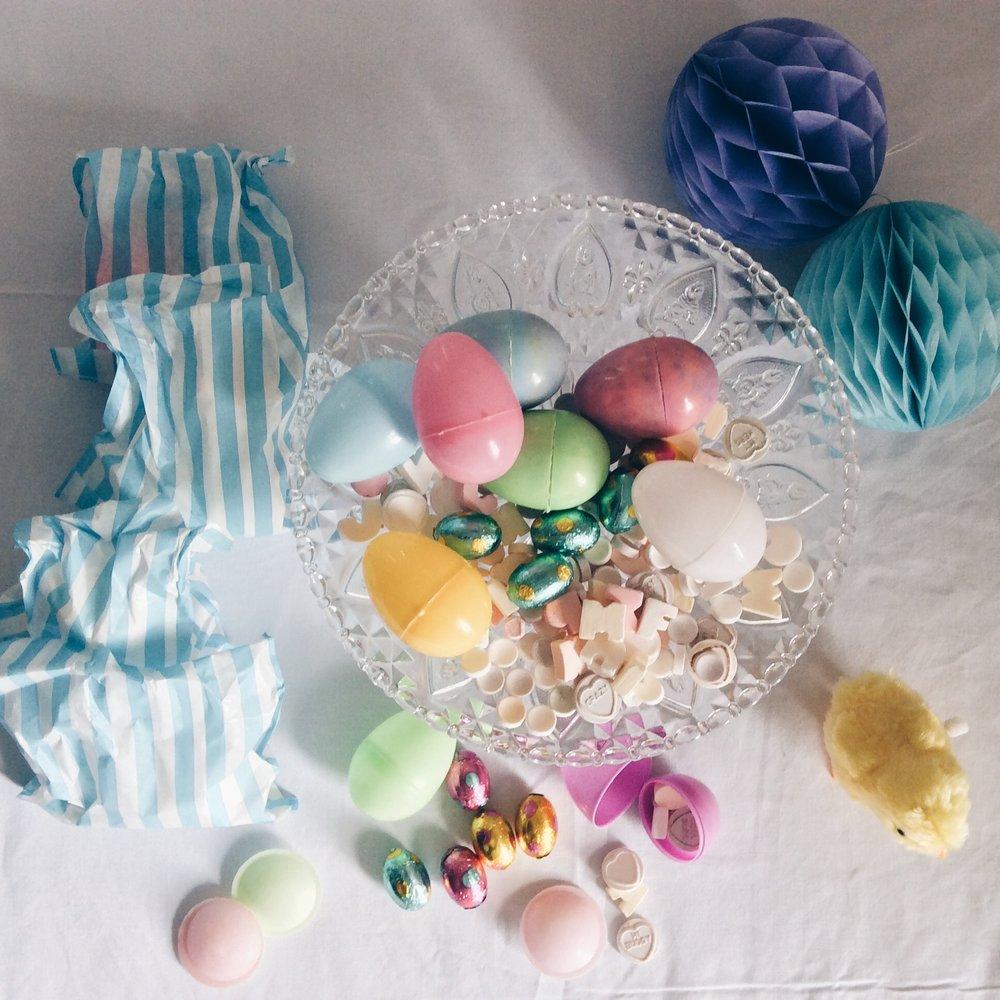 fillable plastic easter eggs