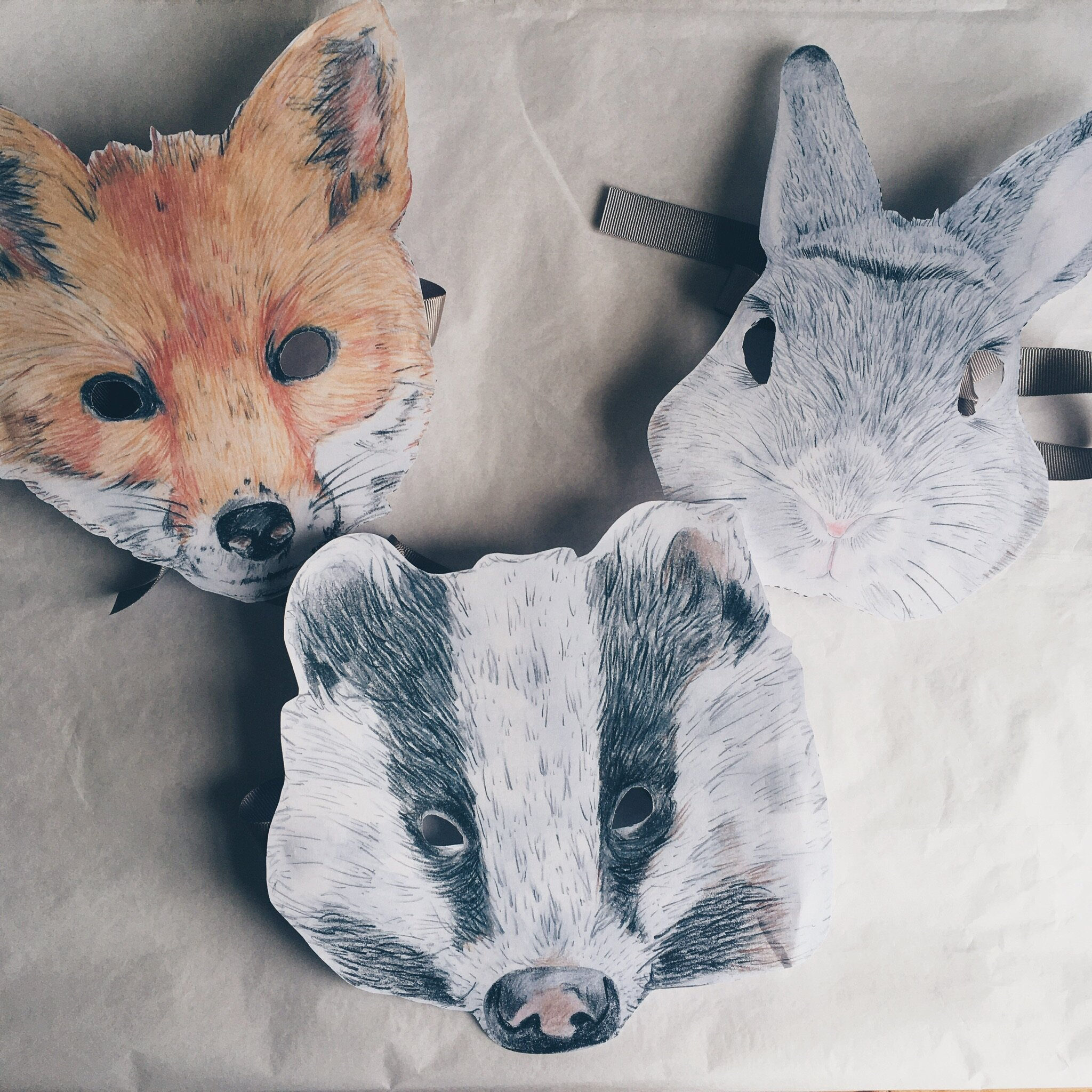 This is a picture of Fox Mask Printable regarding free printable