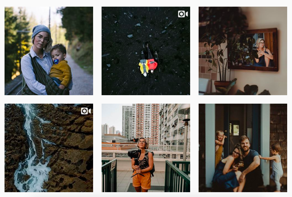 Her recent Instagram shots