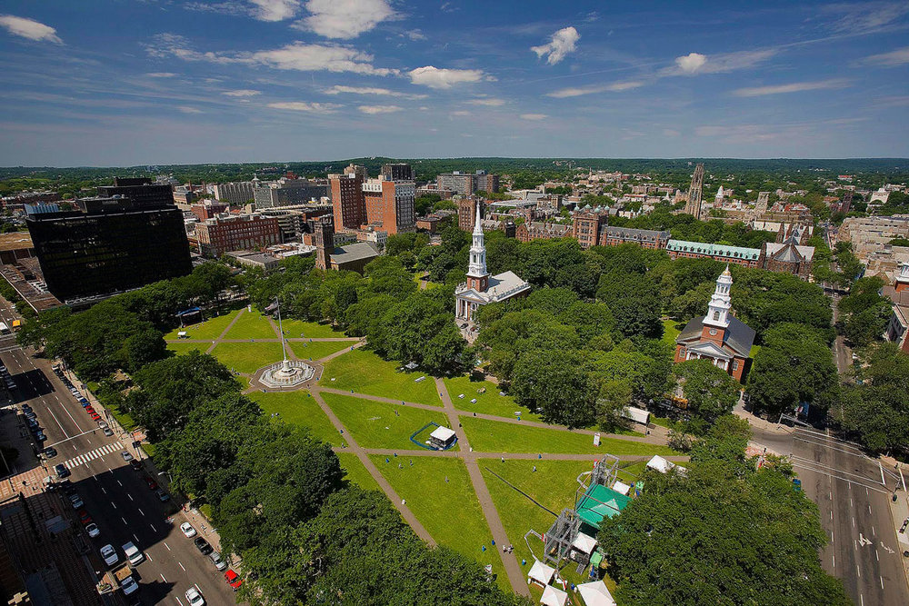 New Haven green.