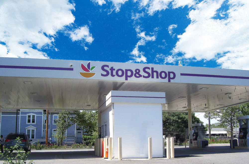 The Stop & Shop Fueling Station.