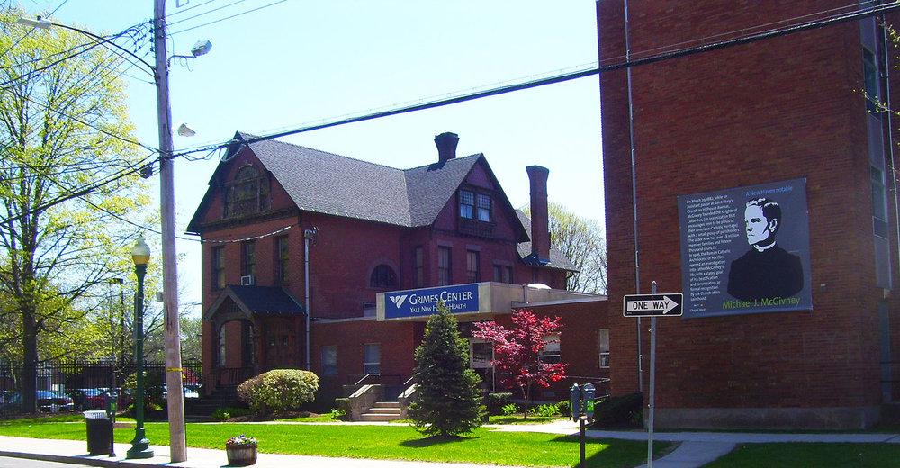 Yale University Hospital at Saint Raphael Campus on Chapel Street.