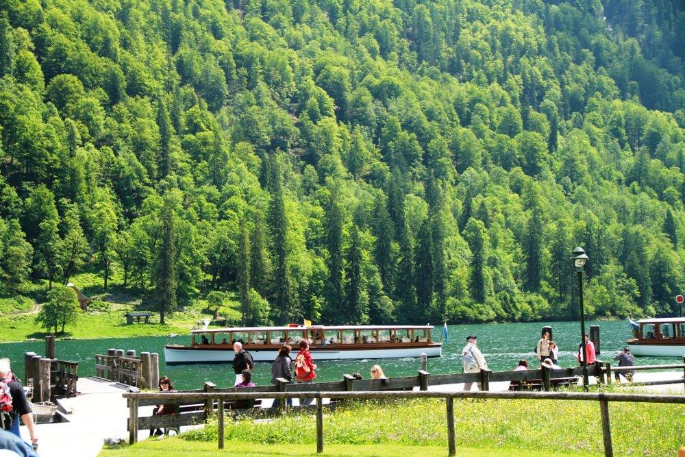Lake Konigssee - Germany's most beautiful Alpine Lake