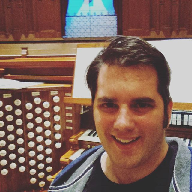 Having a great time preparing for my recital tomorrow at Third Baptist, St. Louis!