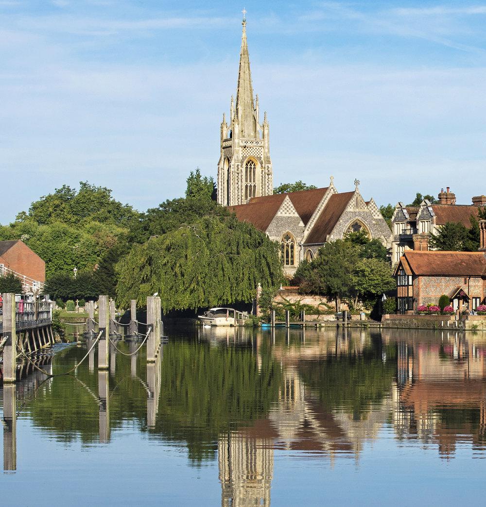 Marlow, Berkshire.