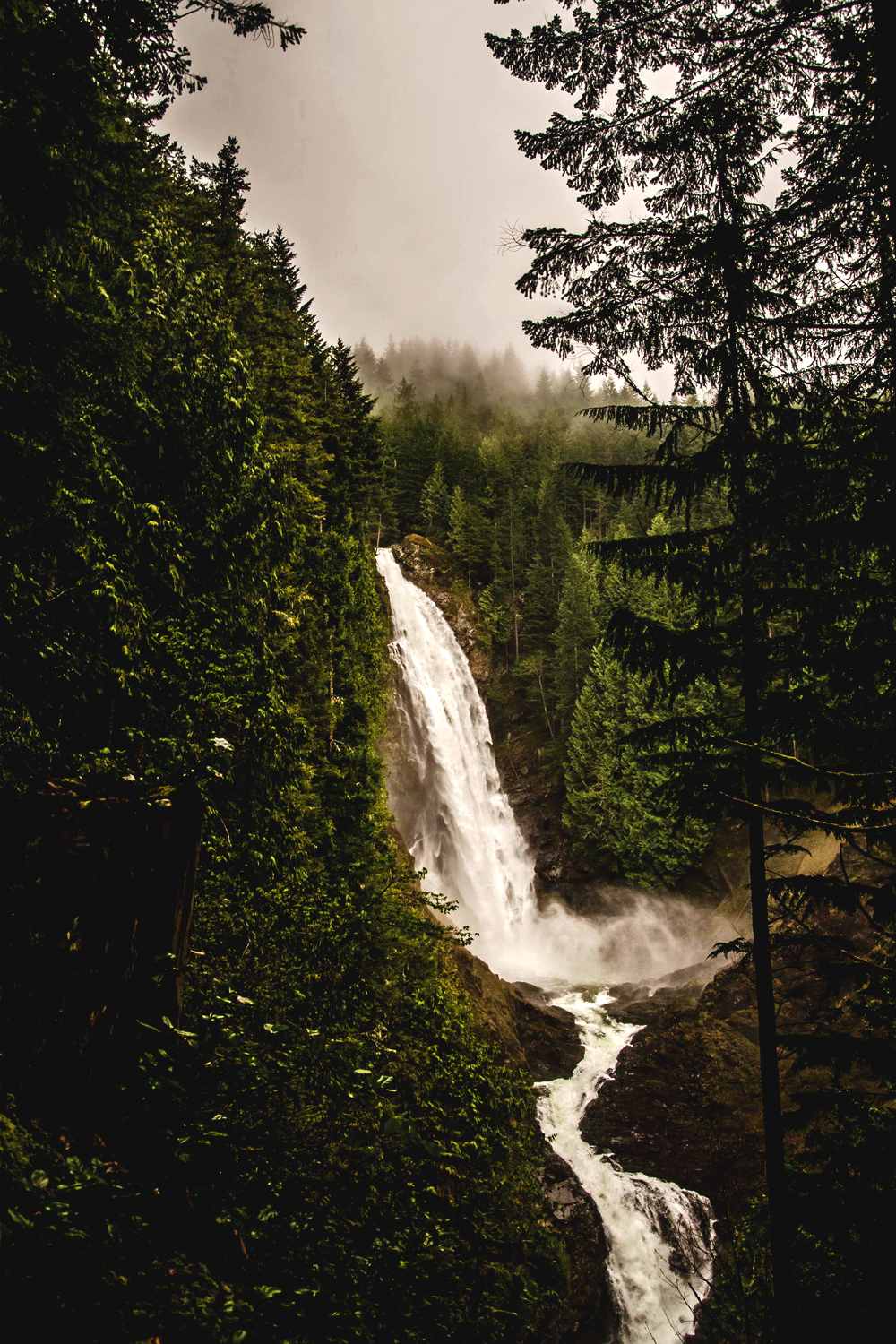 earth-dream :      Wallace Falls