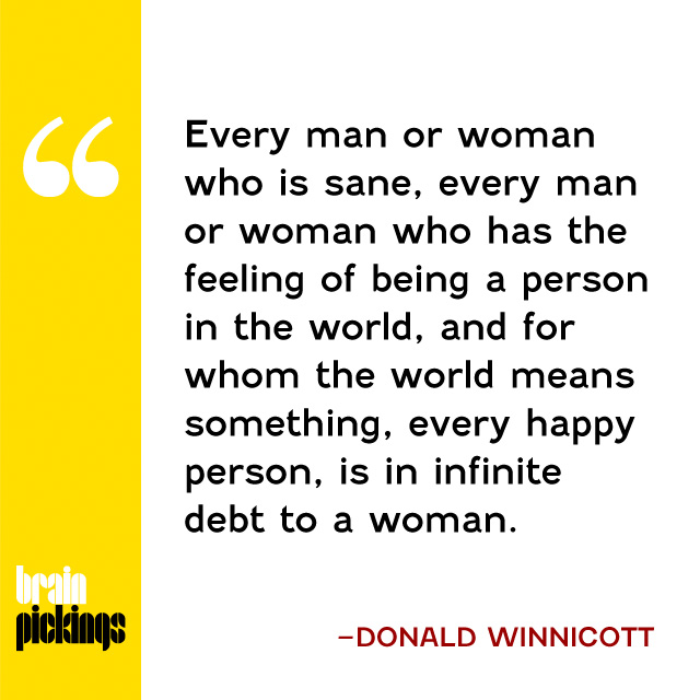 explore-blog :     Happy Mother's Day! Celebrate with the pioneering psychoanalyst  Donald Winnicott  on  the mother's contribution to society .