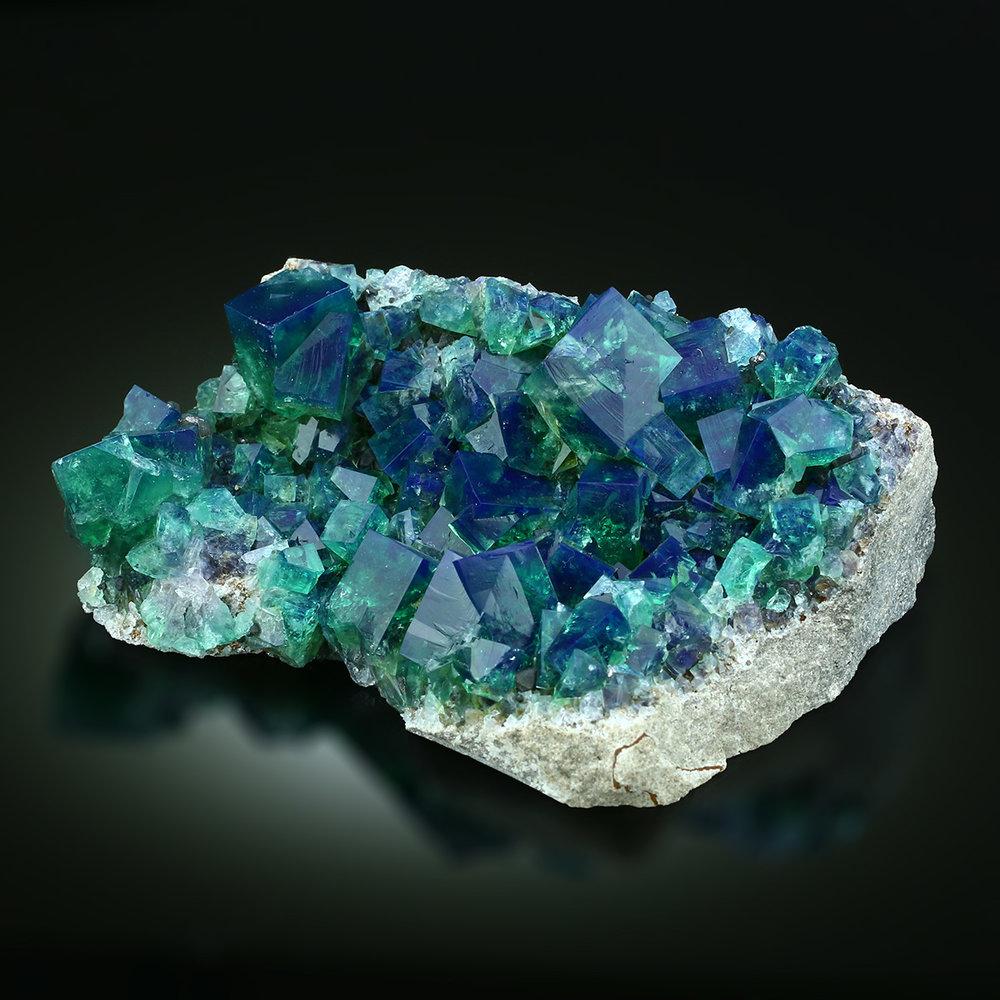 ifuckingloveminerals :      Fluorite    Rogerley Mine, Weardale, County Durham, United Kingdom