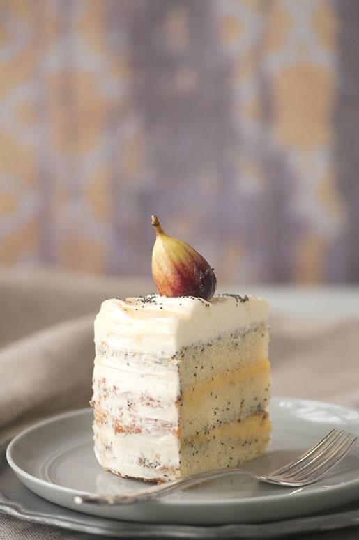 delta-breezes :      Honey Lemon Poppyseed Cake  | Hungry Rabbit NYC