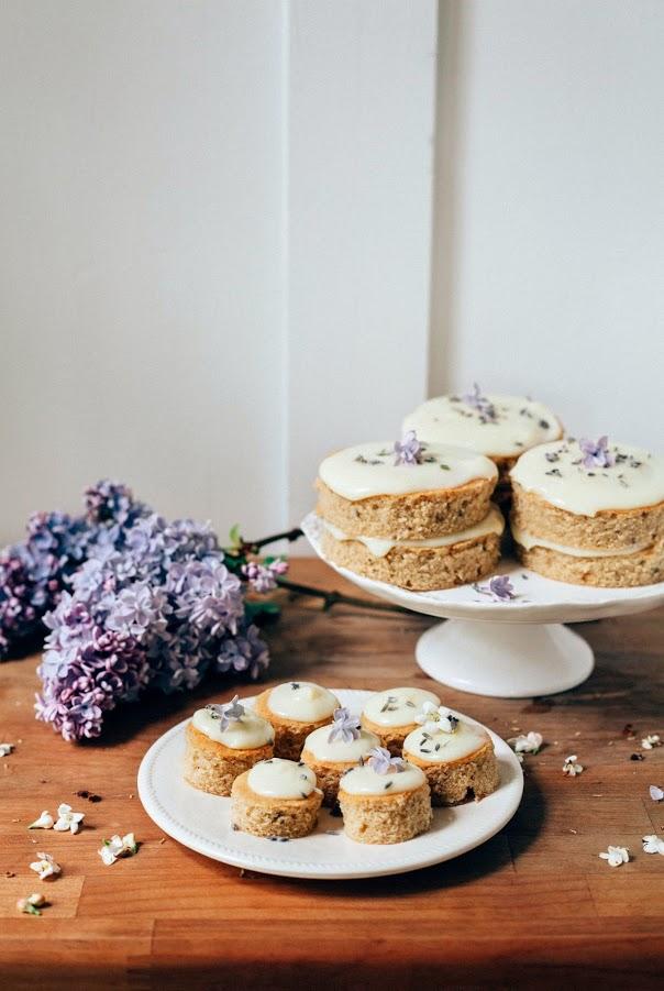 hoardingrecipes :        Lemon, Lavender and Earl Grey Mini Cakes and Petit Fours