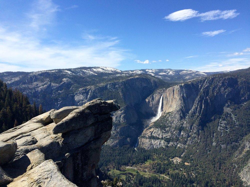 Glacier Point, Yosemite National Park,    Victoria Nightingale