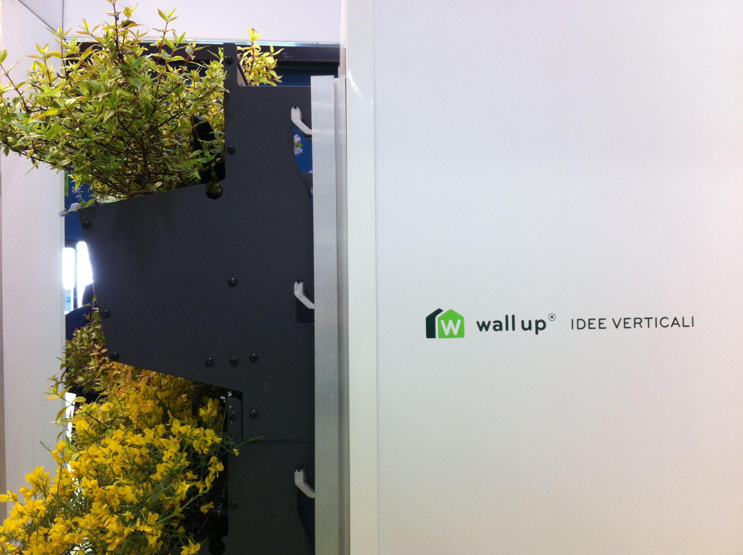 Wall Up system at GreenBuild SolarExpo Verona 2011