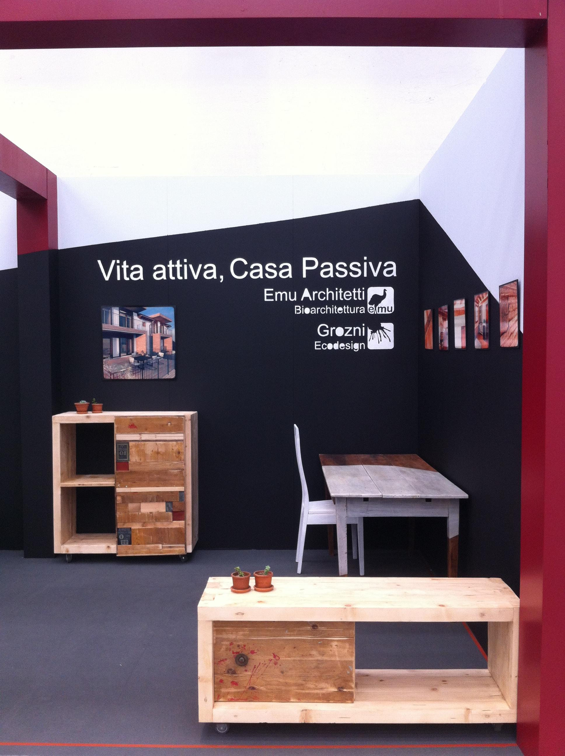 Emu Architects with furnishings by Grozni 5 - Casa&Tavola expo 2012 Reggio Emilia