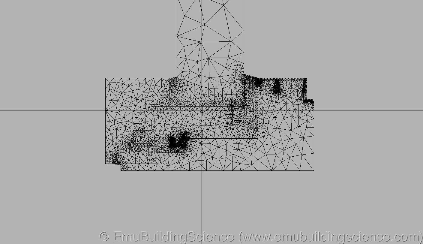 Emu - window side finite elements