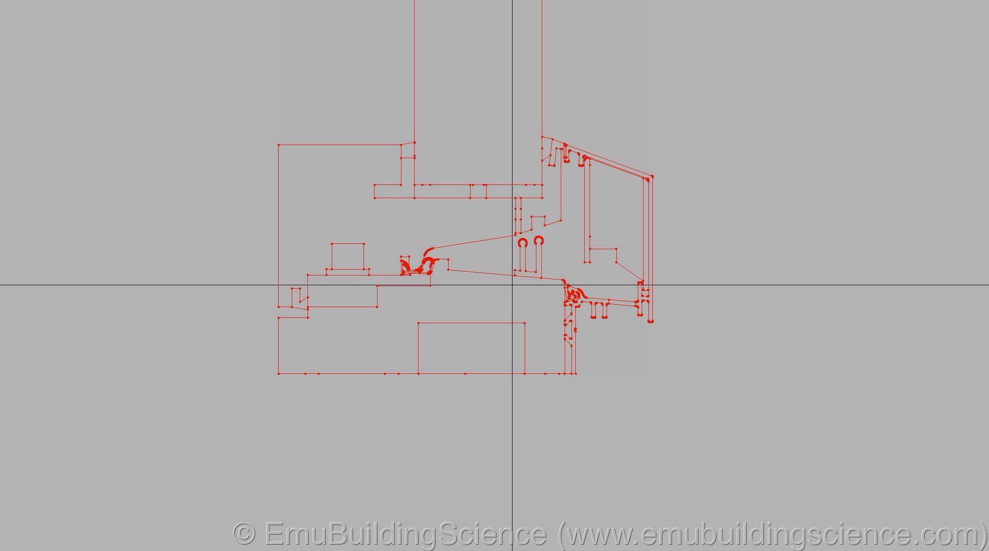 Emu - window sill drawing