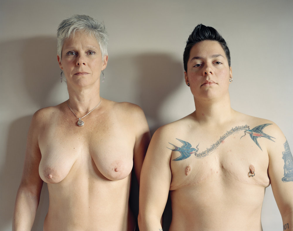 Self-portrait with mom, 2012