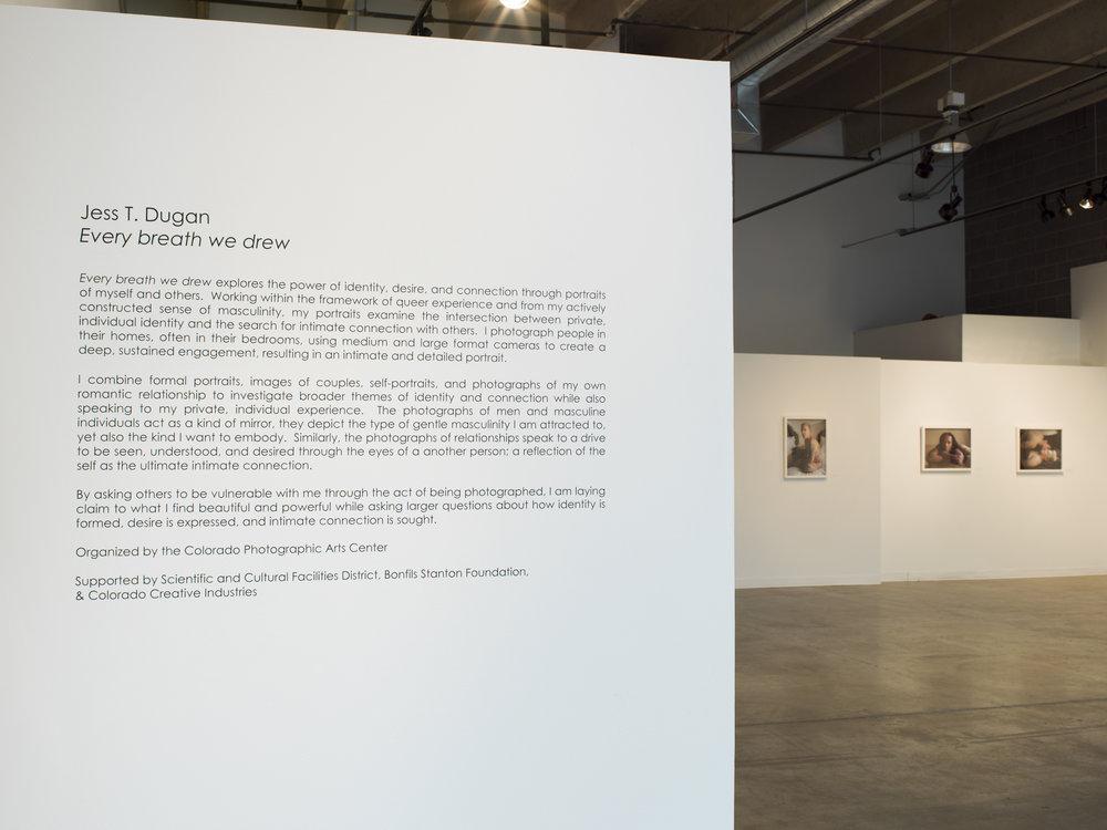 Every Breath We Drew , RedLine Contemporary Art Center, Denver, CO, 2017