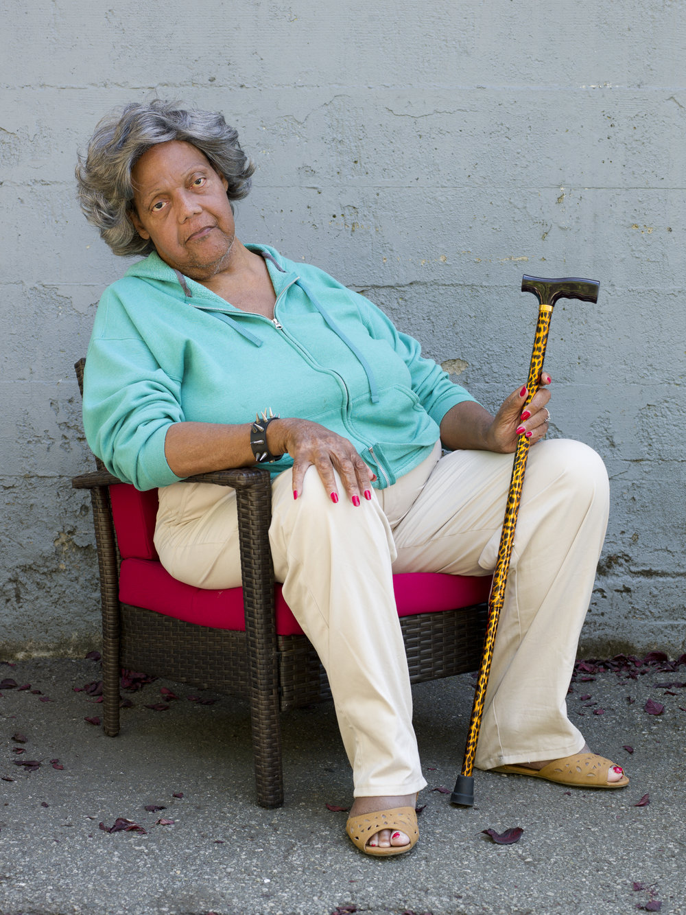 Miss Major, 74, Oakland, CA, 2015