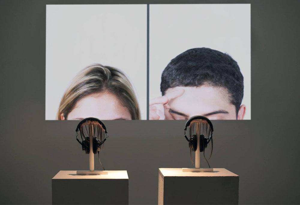 Mercedes Ventura, Multimedia Installation, 2016