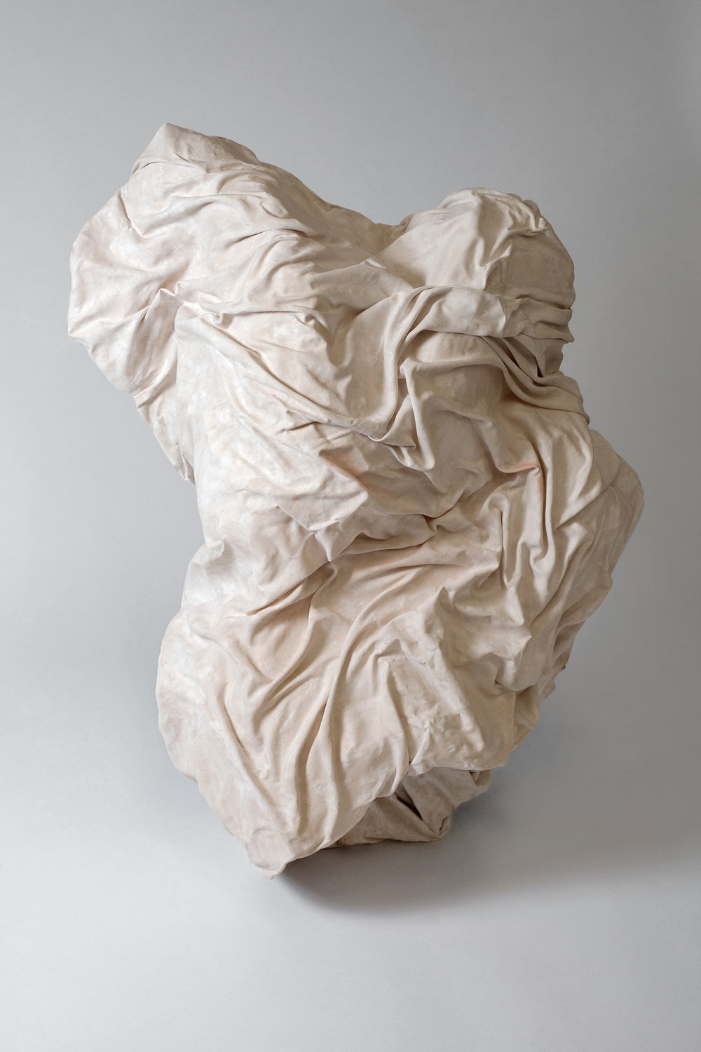 Kelsey McGruer,  Full Of Praise For The Statuary of The Greeks,  Sculpture, Plaster, 2016
