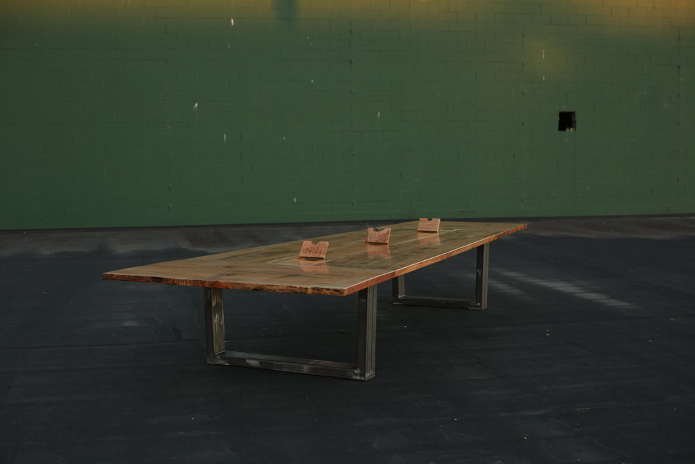 Blu Earth Renewable - Maple Boardroom Table