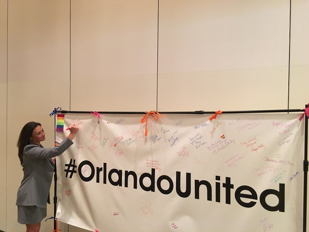 Nikki Supporting OrlandoUnited