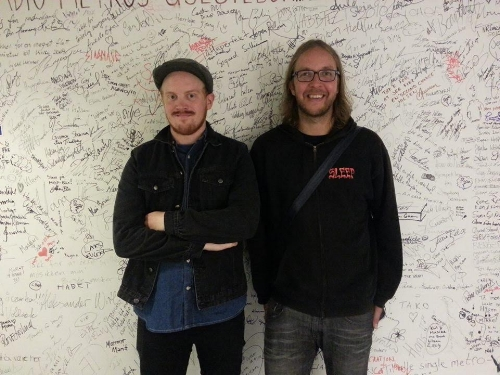 Jens Storaker og Ole Helstad Jernverket 2015