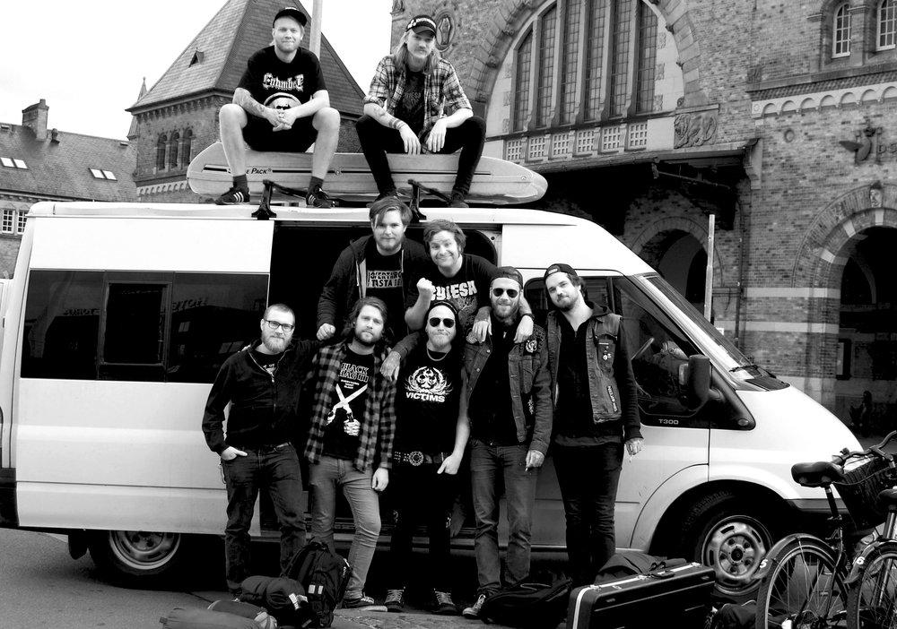 Agenda/Myteri Europa-turnè 2014 (Foto: Hannah)