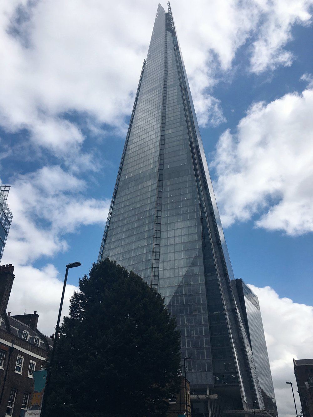 My office - The Shard, 32 London Bridge Street. A little bigger than the buildings in NZ..