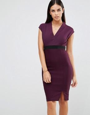 plum-dress-office-fashion-1