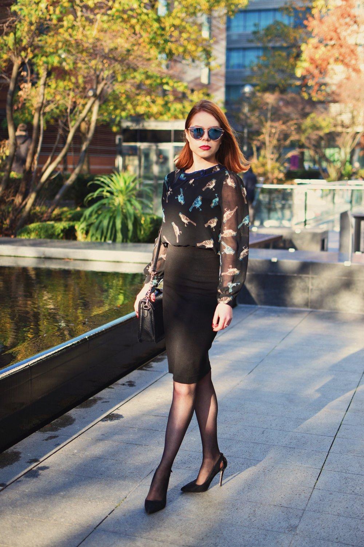 Briar Prestidge - office fashion on a budget