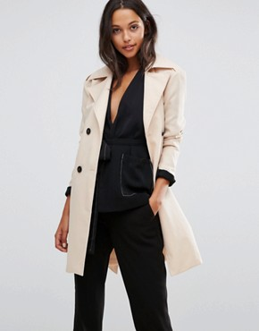 office fashion - trench coat