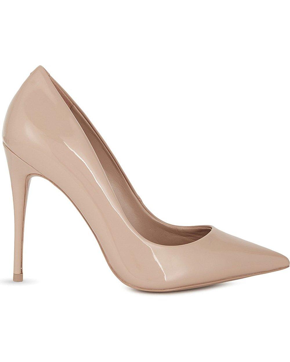 office fashion - nude heels- aldo