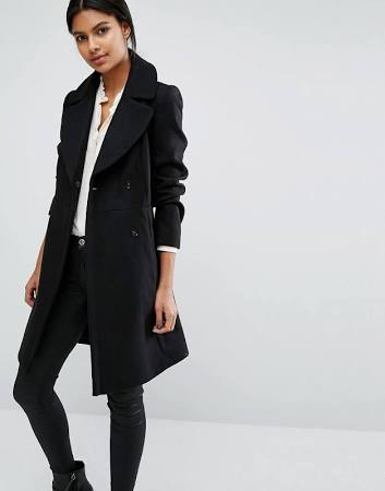 Black coat - Oasis - ASOS - office style