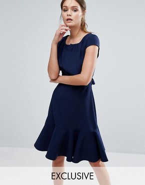 office fashion - closet london- ASOS- peplum skirt