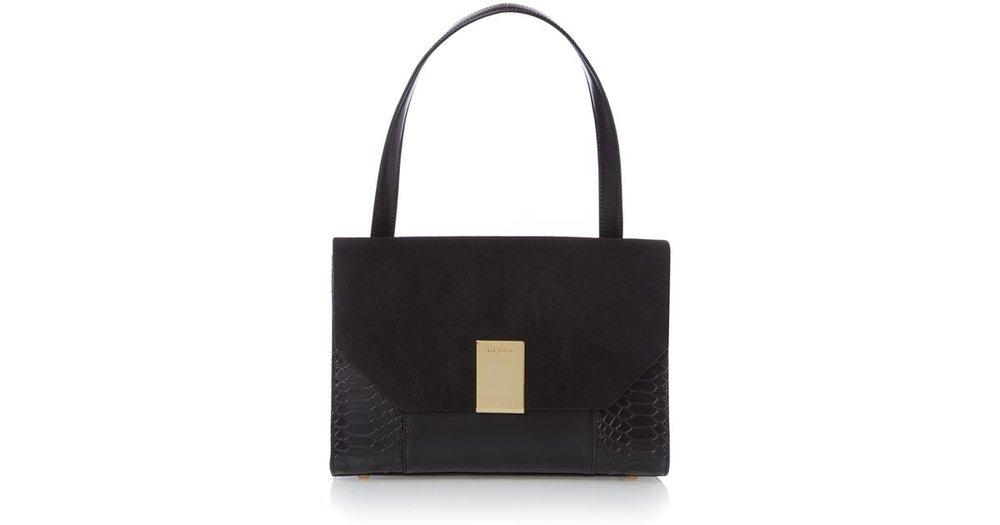 office fashion - ted baker handbag - hoouse of fraser- moving to dubai-Ted BakerMargo Snake Shoulder Bag