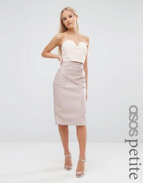 ASOS pencil skirt with pocket detail - office fashion - how to build rapport
