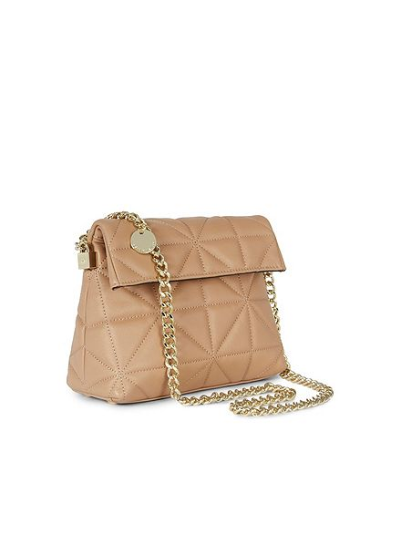 Karen Millen Quilted Leather Mini Regent- house of fraser