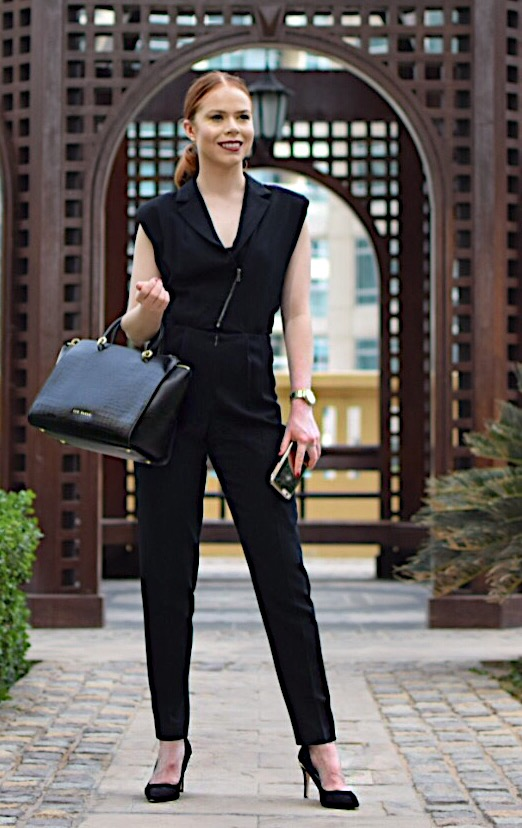 Briar Prestidge - office jumpsuit - corporate lifestyle