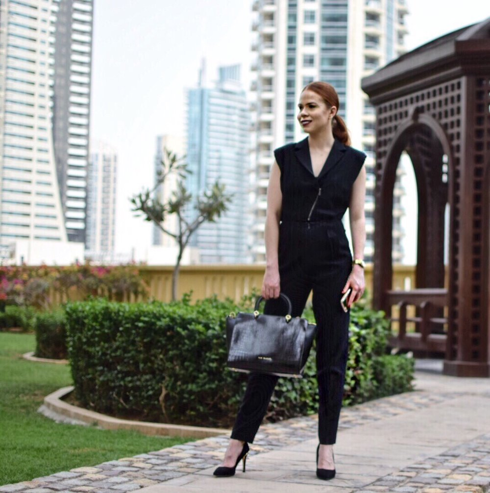 Briar Prestidge - Moving to London- office jumpsuit