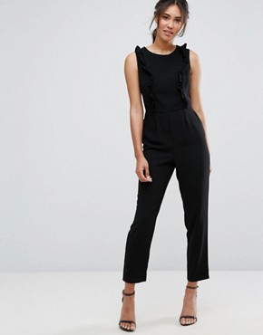 New Look Ruffle Jumpsuit- office fashion