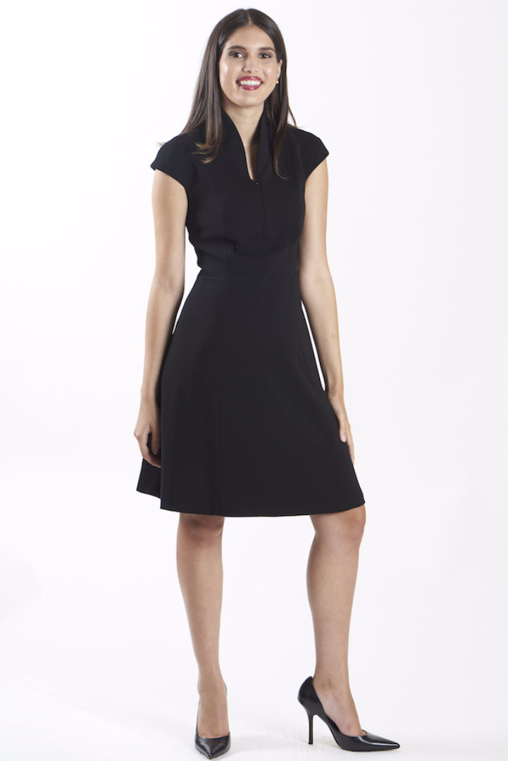 nora gardner interview - office fashion - the evelyn dress - briar prestidge - deals in high heels