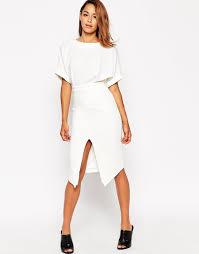 ASOS Wiggle Dress with Split Front - briar prestidge - deals in high heels