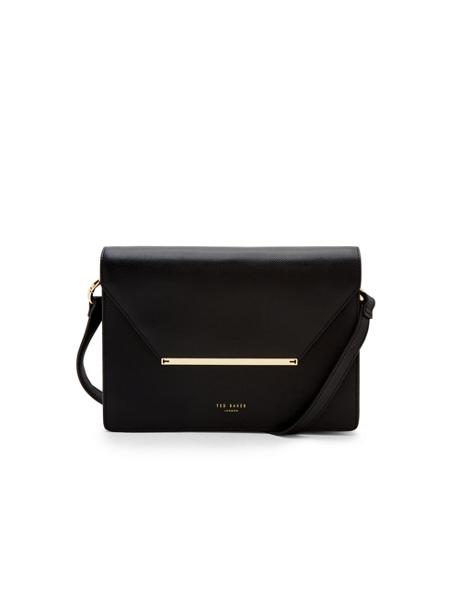Ted Baker Magsie Bar Detail Leather Cross Body Bag - deals in high heels - corporate lifestyle and office fashion
