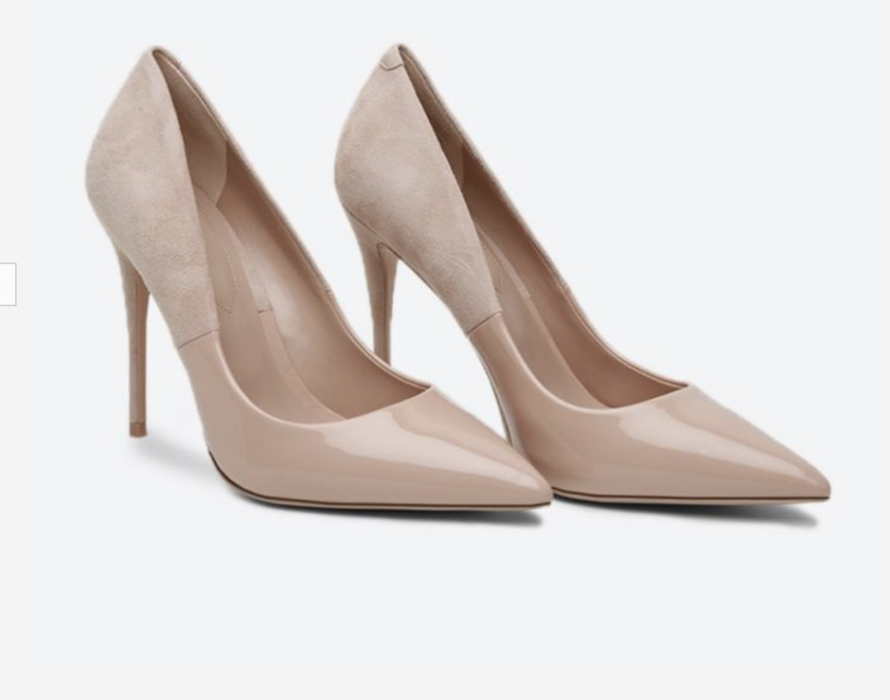 steely Aldo nude high heels - workwear