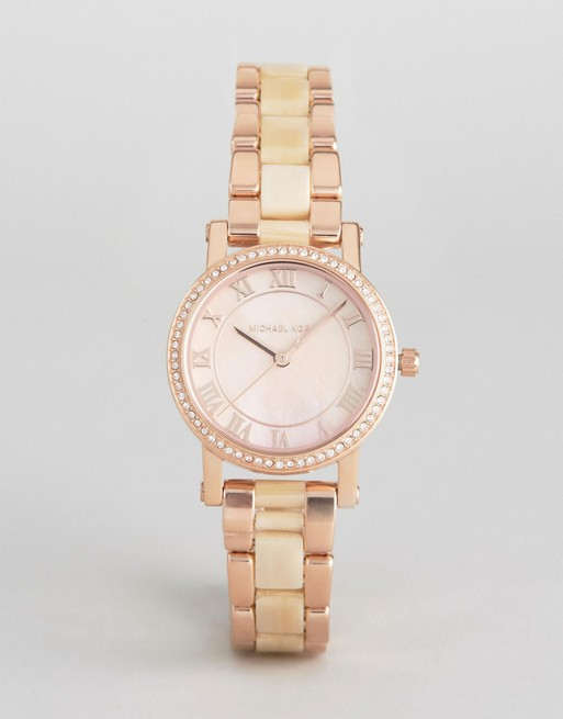 Michael Kors Rose Gold Petite Norie Watch
